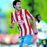 Borja Gonzalez Atletico de Madrid