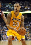Robert Sacre Los Angeles Lakers