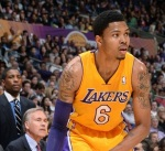 Kent Bazemore Los Angeles Lakers