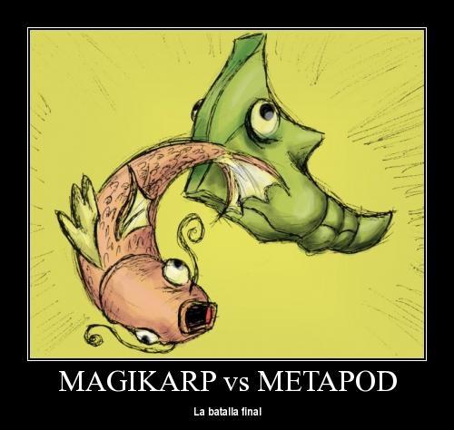 magikarp vs metapod