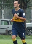 Francesco Daniel Celeste Boca Juniors
