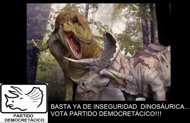 pelea dinosaurios