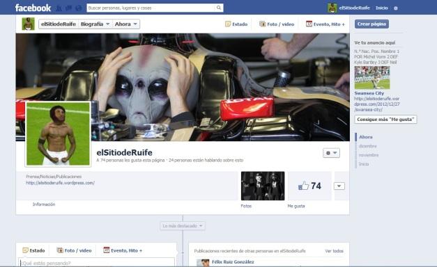 Perfil facebook elsitioderuife