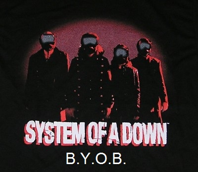 system of a down - byob