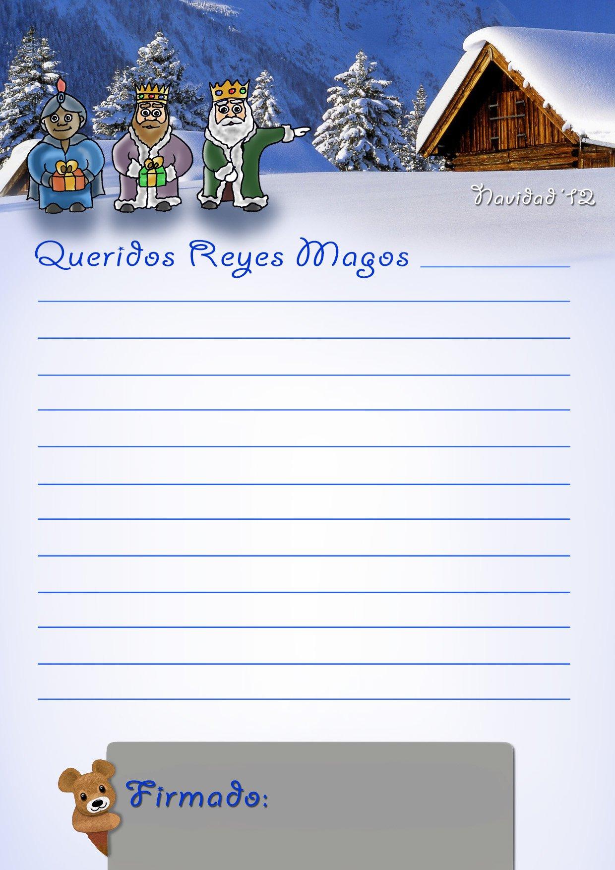 Carta a los reyes magos elsitioderuife - Que pedir a los reyes magos ...