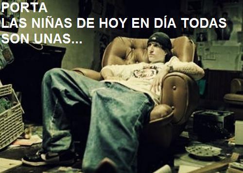 lyrics las ninas de hoy: