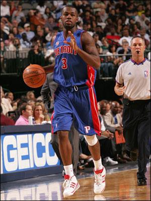 Rodney Stuckey Detroit Pistons