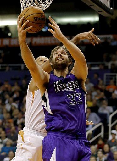 Aaron Gray Sacramento Kings