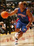 Chauncey Billups Detroit Pistons