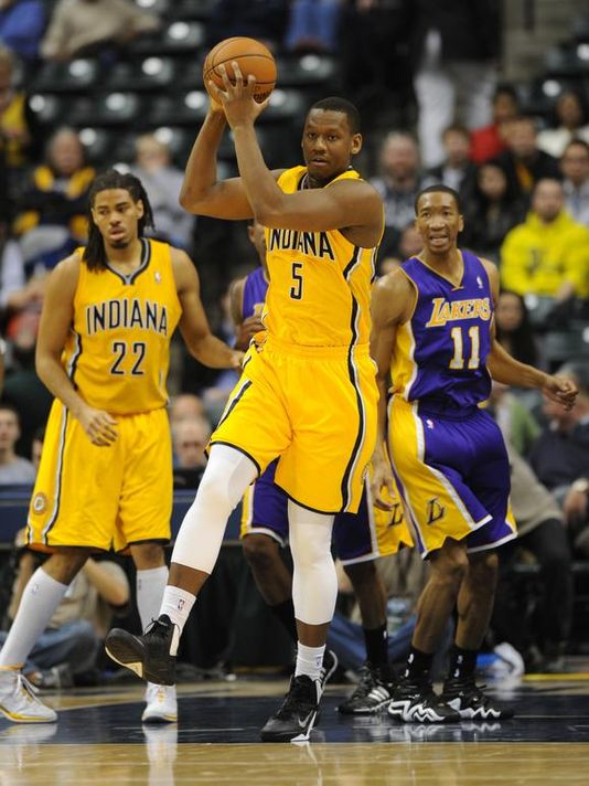 Lavoy Allen Indiana Pacers