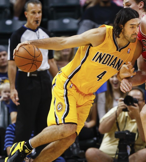 Luis Scola Indiana Pacers
