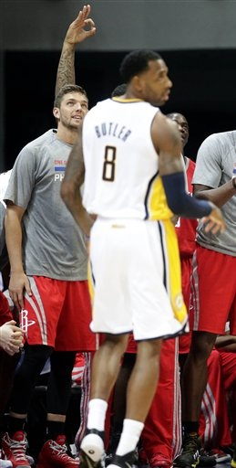 Rasual Butler Indiana Pacers