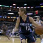 Luke Ridnour Charlotte Bobcats