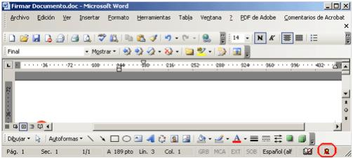 firma digital en word 5