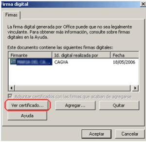 firma digital en word 6