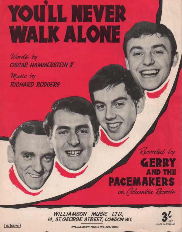 gerry and the pacemakers - you´ll never walk alone