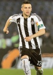 Nikola Aksentijevic Partizan