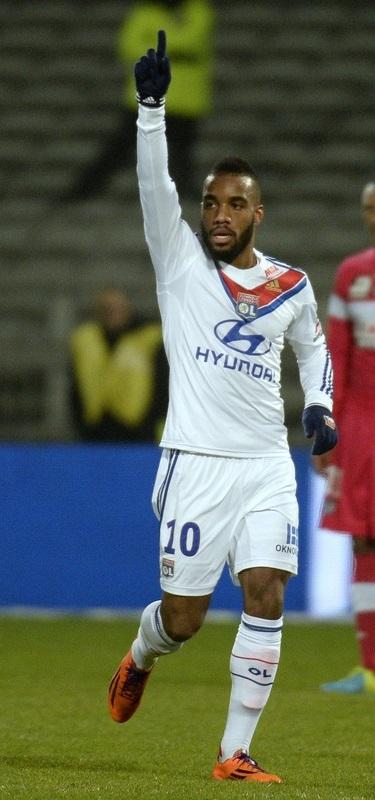 Alexandre Lacazette Olympique Lyon