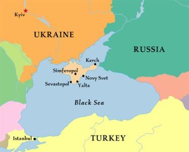 crimea mapa