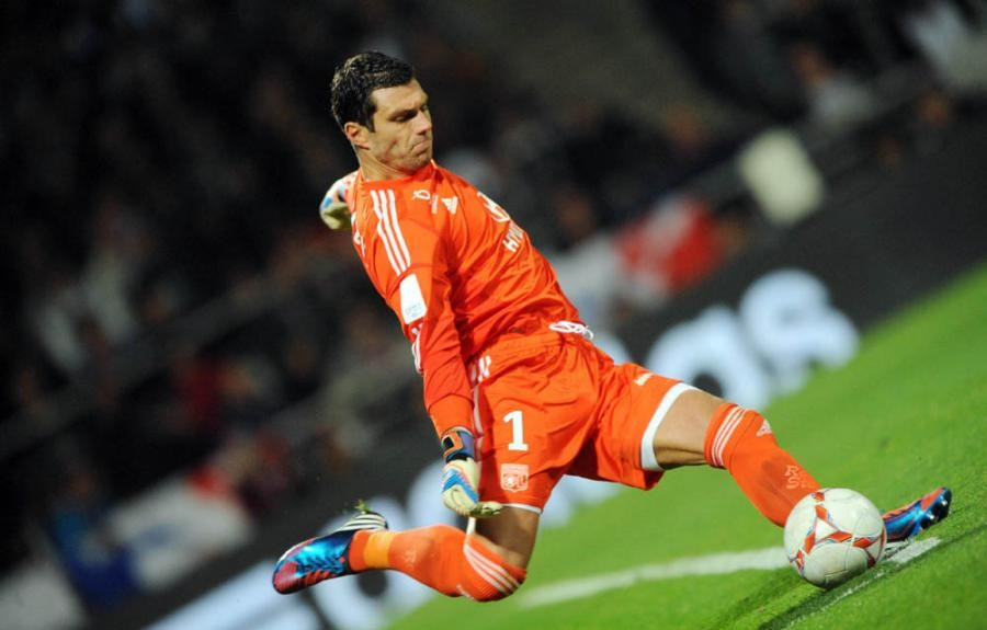 Remy Vercoutre Olympique Lyon