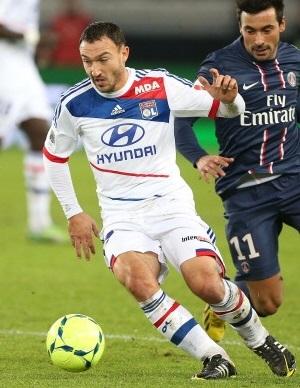 Steed Malbranque Olympique Lyon