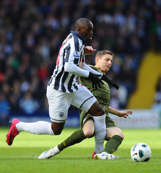 Youssuf Mulumbu West Bromwich